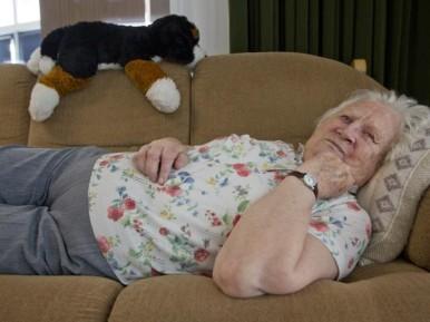 Afbeelding bij 'Verpleeghuisbewoners bewegen weinig'