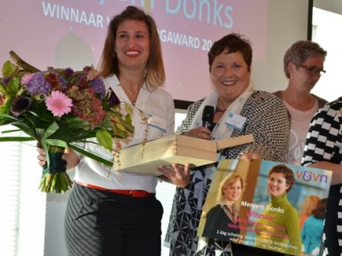 Afbeelding bij 'Meryem Donks wint V&VN Zorgaward 2015'