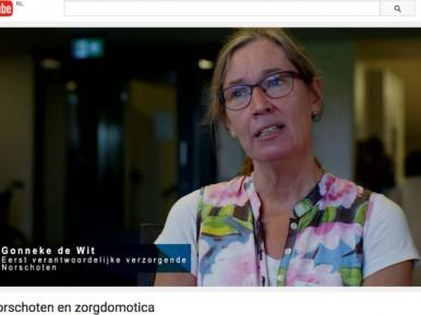 Afbeelding bij 'Verpleeghuis Oranjehof richt zorgproces slimmer in met zorgdomotica'