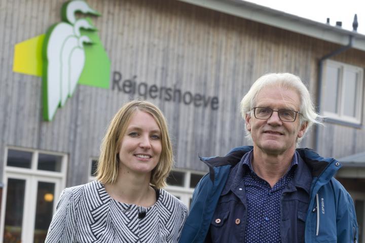 Dieneke en Henk Smit van de Reigershoeve