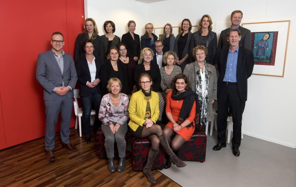 Groepsfoto van kwaliteitsverantwoording groep 3