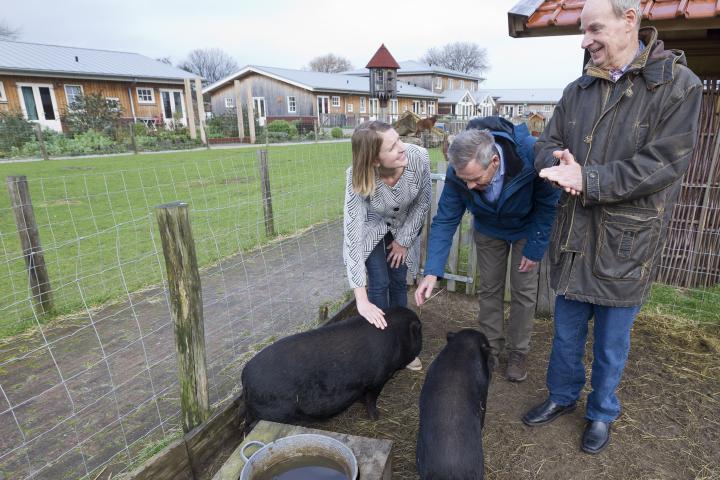 De varkensstal op de Reigershoeve