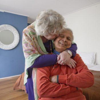 Afbeelding bij 'Tweepersoonsbed in het hospice'