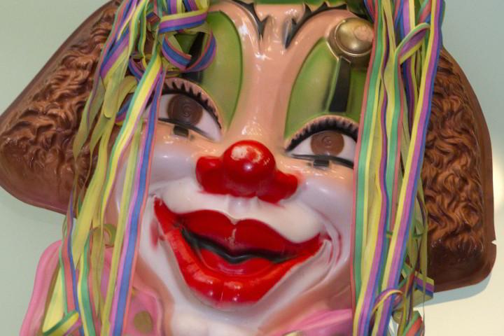 Carnaval bij Laverhof carnavalsmasker