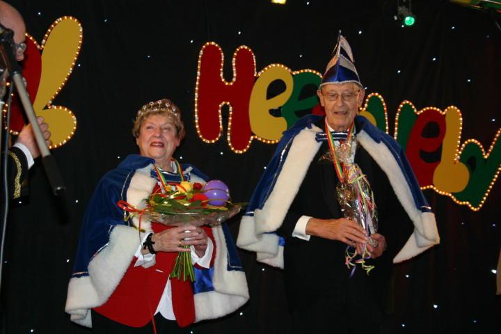 Prinsenpaar bij MeanderGroep in Landgraaf met carnaval
