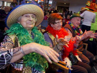 Afbeelding bij 'Vreugdevolle carnaval in het verpleeghuis'