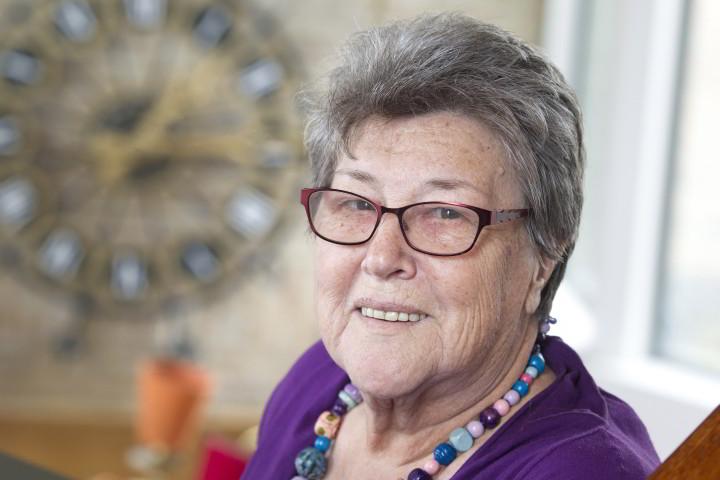 Portret van Jet Kersten, vrijwilliger bij OBG
