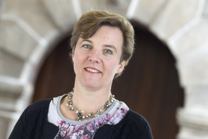 Portret van Margje Lubberst, bestuurder van OBG