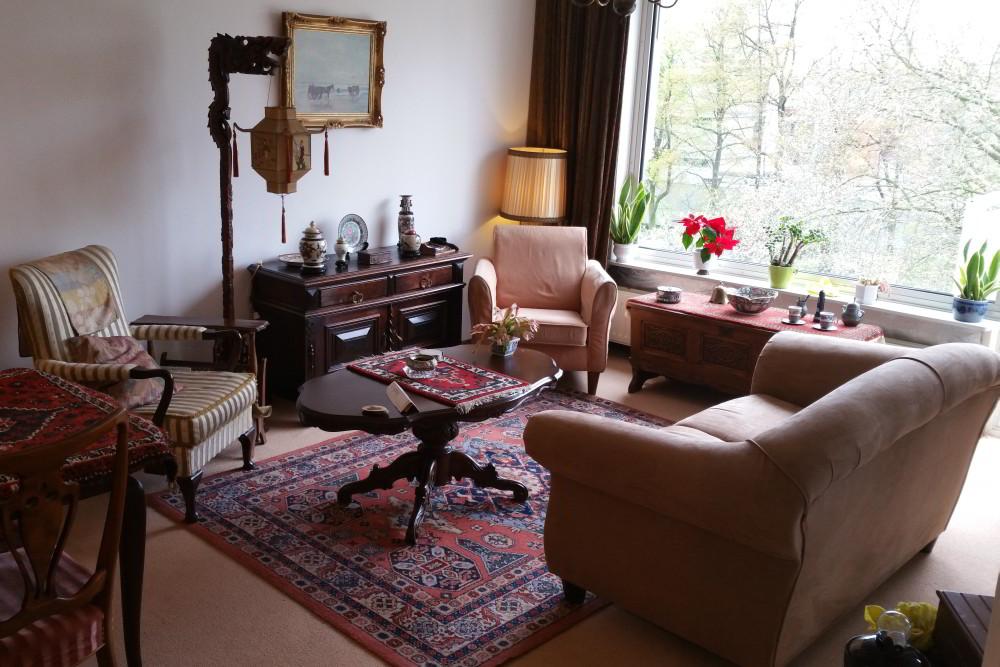 Gekopieerde huiskamer van iemand met dementie