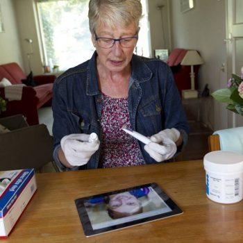 Afbeelding bij 'Wonden digitaal beoordelen bespaart tijd'