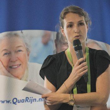 Afbeelding bij 'QuaRijn: Onderwijs en praktijk samen op koers voor de ouderenzorg van morgen'