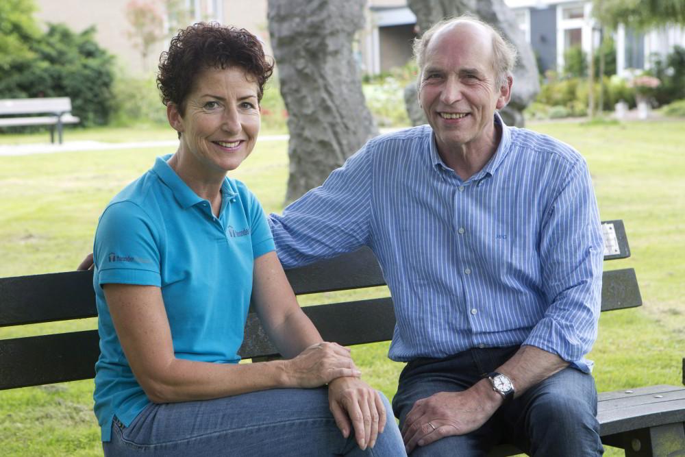 Math Gulpers en Ine Smeets van MeanderGroep Zuid-Limburg