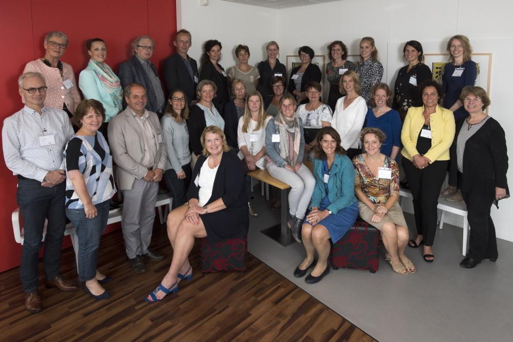 Groepsfoto van de deelnemers in WT3