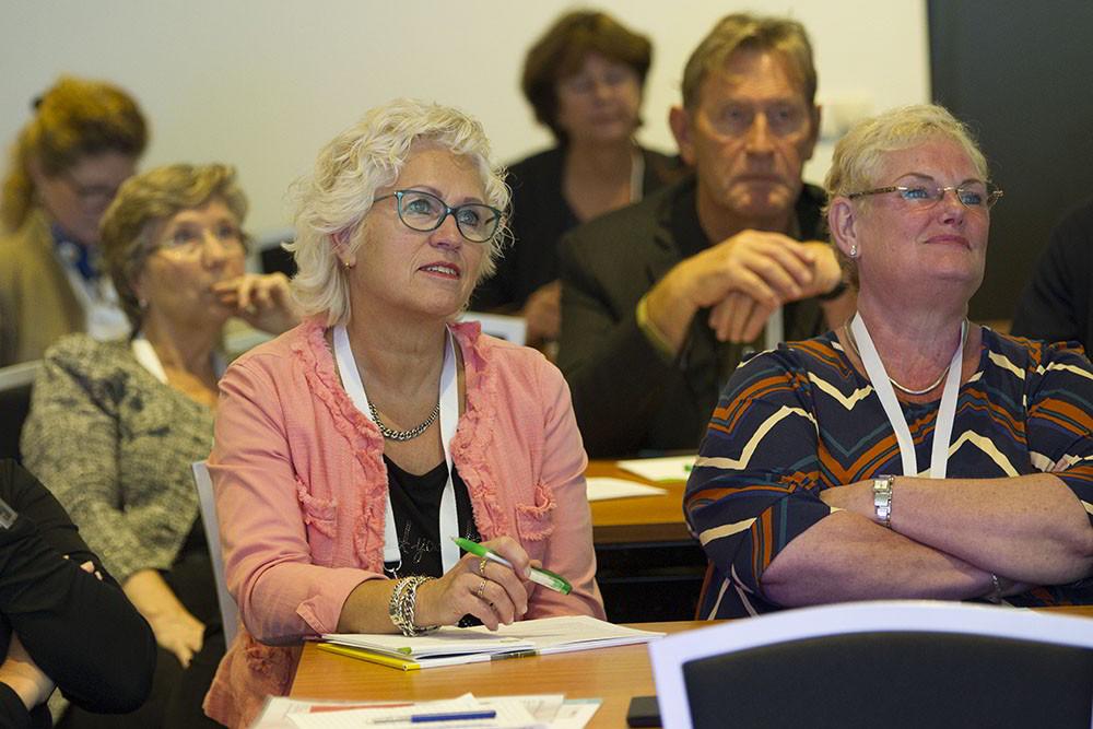 Leden van cliëntenraden in de workshop van Envida