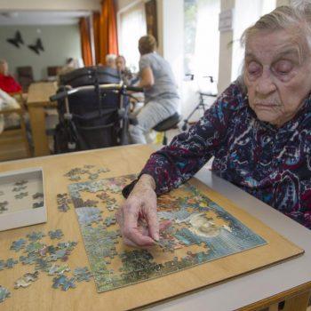 Afbeelding bij 'Workshop persoonsgericht werken, thema dementie met bloem van Kitwood'