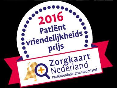 Afbeelding bij 'WarmThuis wint patiëntvriendelijkheidsprijs ZorgkaartNederland'