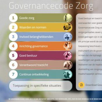 Afbeelding bij '7 principes voor goed bestuur en toezicht in de Governancecode Zorg 2017'