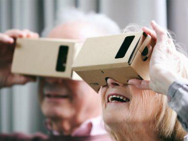 Afbeelding bij 'Pilot virtual reality in ouderenzorg bij Vivantes'