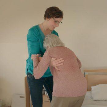 Afbeelding bij 'Videoportret Silvia Weening (Coloriet) 'Er wordt heel veel gelachen op het wer..'