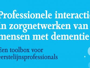 Afbeelding bij 'Tool: Professionele communicatie met mensen met dementie'