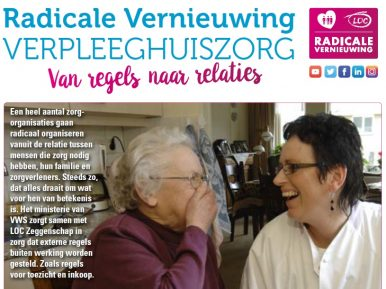 Afbeelding bij 'Bekijk de video-opnames van het startcongres Radicale vernieuwing verpleeghuiszo..'