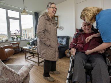 Afbeelding bij 'Bilderdijk: leven zoals thuis in een verpleeghuis dat toch geen verpleeghuis is'