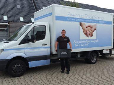 Afbeelding bij 'Verhuisbedrijf Donny Zwennes ontvangt Prachtig!-oorkonde'