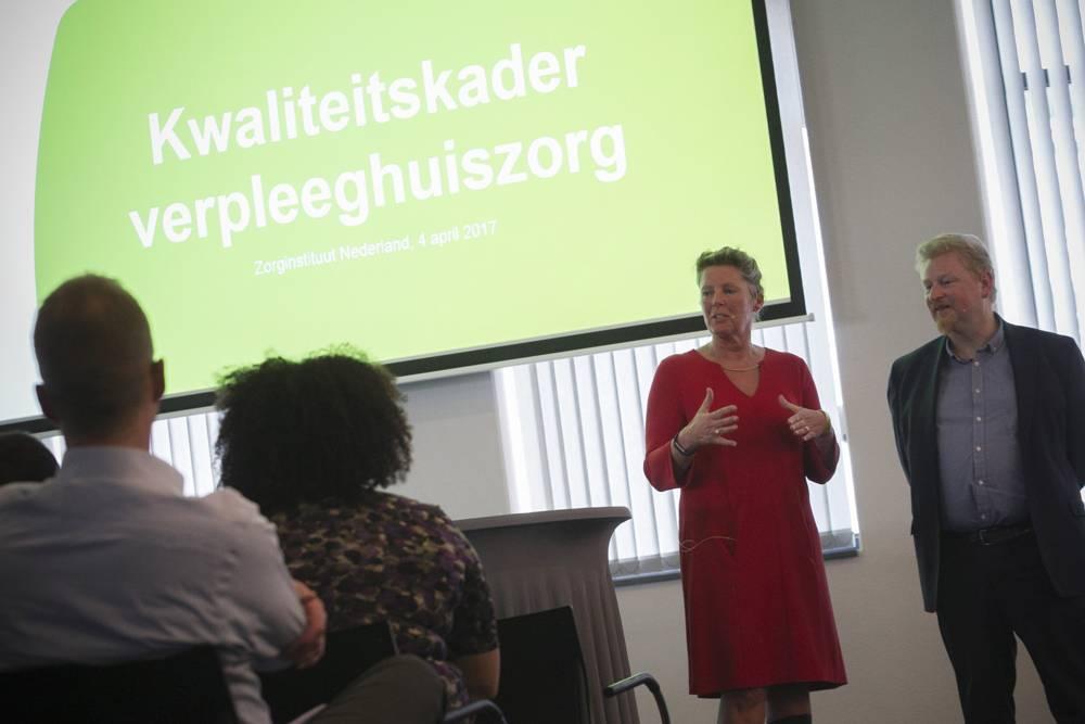 Mariëtte Keijzer - Vivium Zorggroep - Informatiebijeenkomst Kwaliteitskader Verpleeghuiszorg