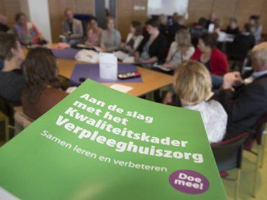 Afbeelding bij 'Verslag eerste informatiebijeenkomst Kwaliteitskader Verpleeghuiszorg'