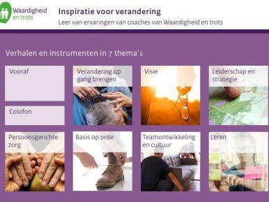 Afbeelding bij 'Publicatie 'Inspiratie voor verandering' – verhalen en instrum..'