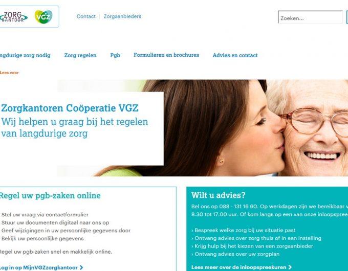 Afbeelding bij 'Zorgkantoren Coöperatie VGZ lanceert nieuwe website over langdurige zorg'