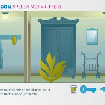 Afbeelding bij 'Vergroot vrijheid verpleeghuisbewoners met escaperoomspel'
