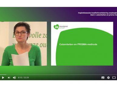 Afbeelding bij 'Video inspiratiesessie kwaliteitsverbetering verpleeghuiszorg: Calamiteiten en P..'