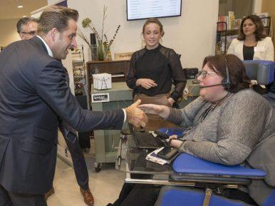 Afbeelding bij 'Minister De Jonge (VWS): 'Ruggen zijn gerecht, maar doorgaan op ingeslagen..'