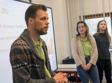 Afbeelding bij 'Studenten enthousiast over opleiding Zeeuwse Praktijkroute Ouderenzorg'