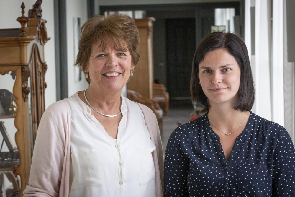 Nina Laurijsen-Boer en Britt van Halder