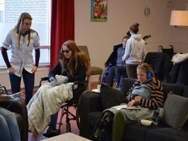 Afbeelding bij 'Zorg zelf beleven bij sTimul: ervaringsleren houdt studenten én medewerkers spi..'