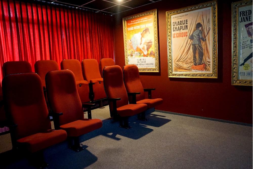 Nieuwe Hoeven heeft een bioscoop