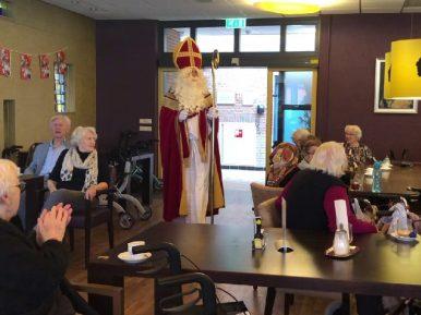 Afbeelding bij 'Sinterklaas brengt de wereld het verpleeghuis in'
