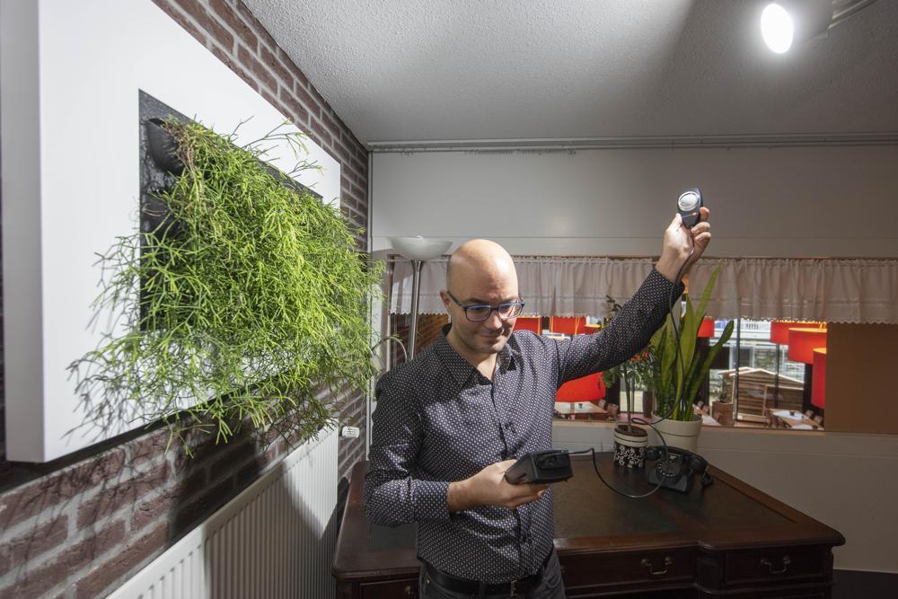 Rutger de Graaf - Pennemes - mobiele luxmeters