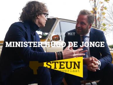 Afbeelding bij 'STEUN en toeverlaat in gesprek met Hugo de Jonge'