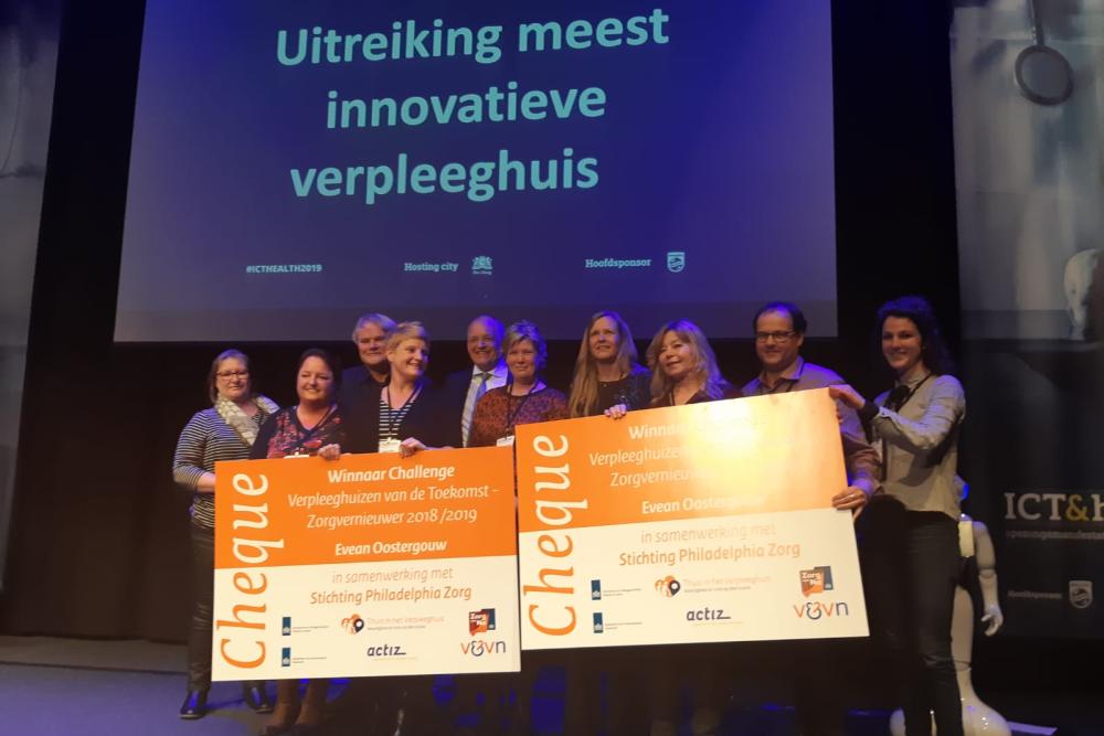 Winnaar Evean Challenge Verpleeghuizen van de Toekomst