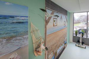 Behang met zee WelThuis