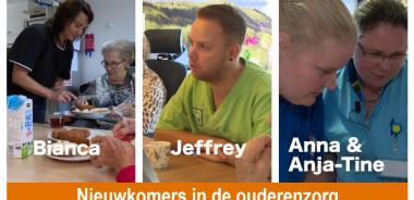Afbeelding bij 'Nieuwkomers in de ouderenzorg – elke 2 weken nieuwe afleveringen'