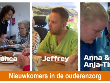 Afbeelding bij 'Nieuwkomers in de ouderenzorg – Bekijk de trailer!'