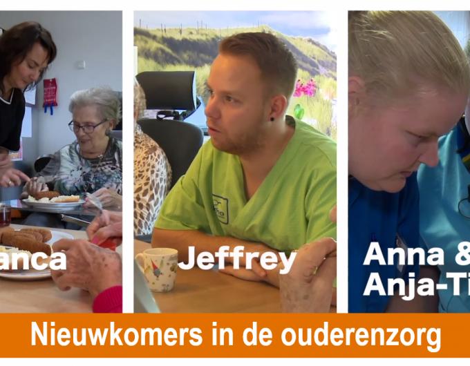Afbeelding bij 'Nieuwkomers in de ouderenzorg - elke 2 weken nieuwe afleveringen'