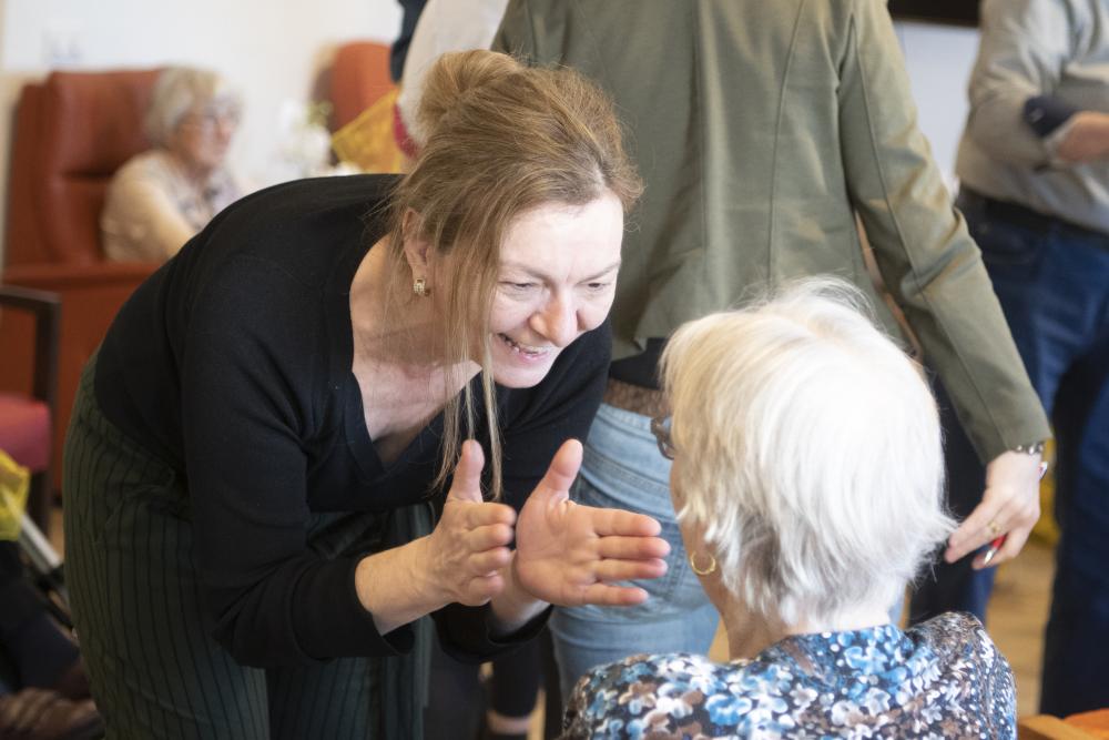 Dansles met mensen met dementie