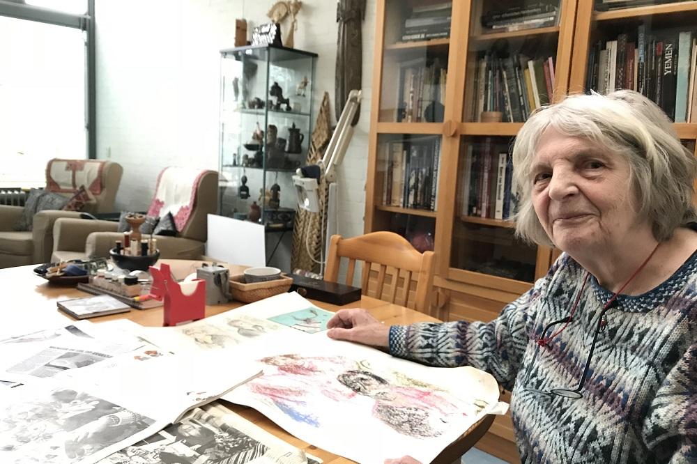 Textiel kunstenares Rosa Spier Huis