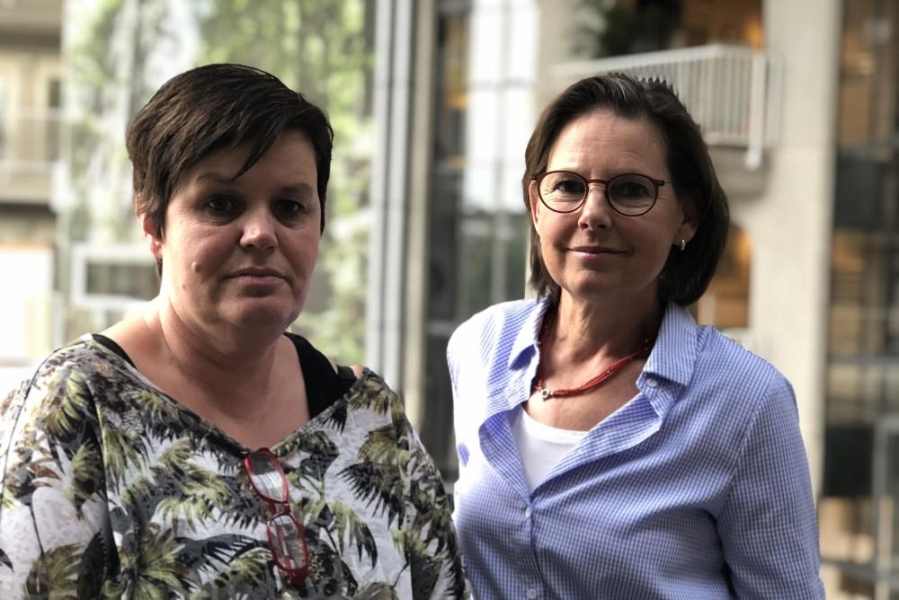 Judith Reiff en bewoner Gelderhorst