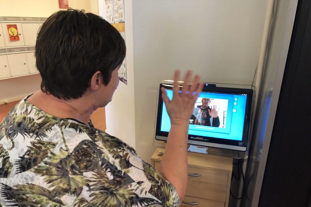 Video bellen in de gelderhorst